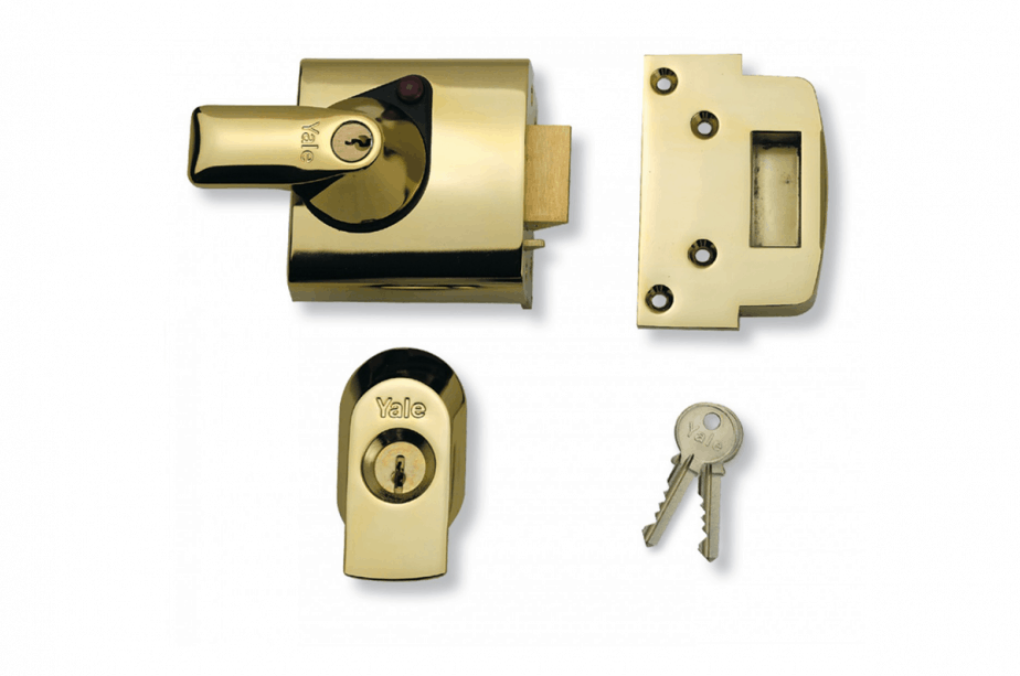 British standard night latch a must for wooden doors