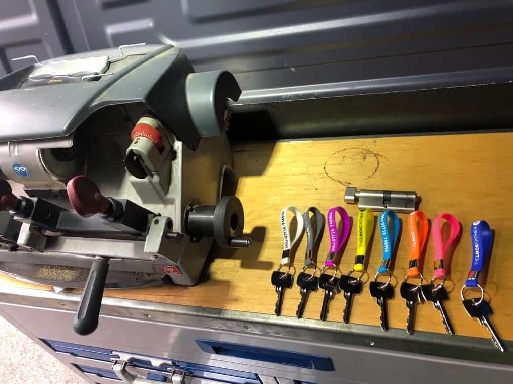 mobile key cutting service from The Lock Father