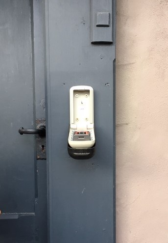 key safe installation in Brentwood