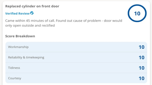 emergency locksmith review